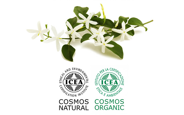 Cosmos Natural and Cosmos Organic certified flavours and fragrances