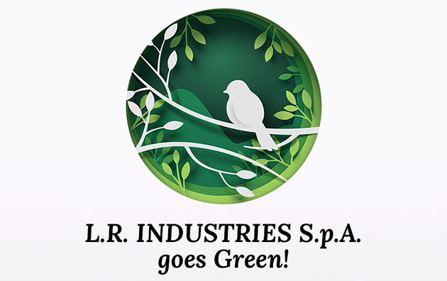 L.R. INDUSTRIES S.P.A. GOES GREEN!