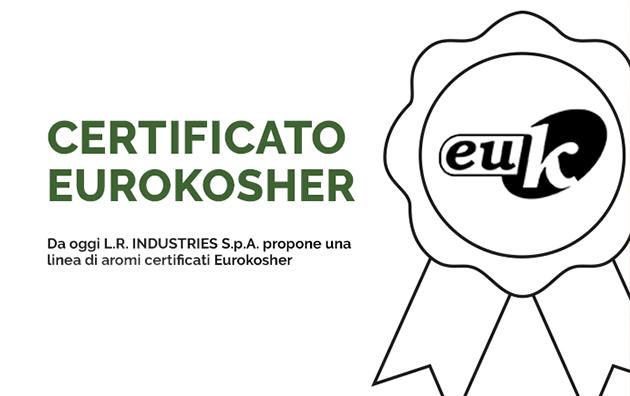 Certificato Eurokosher